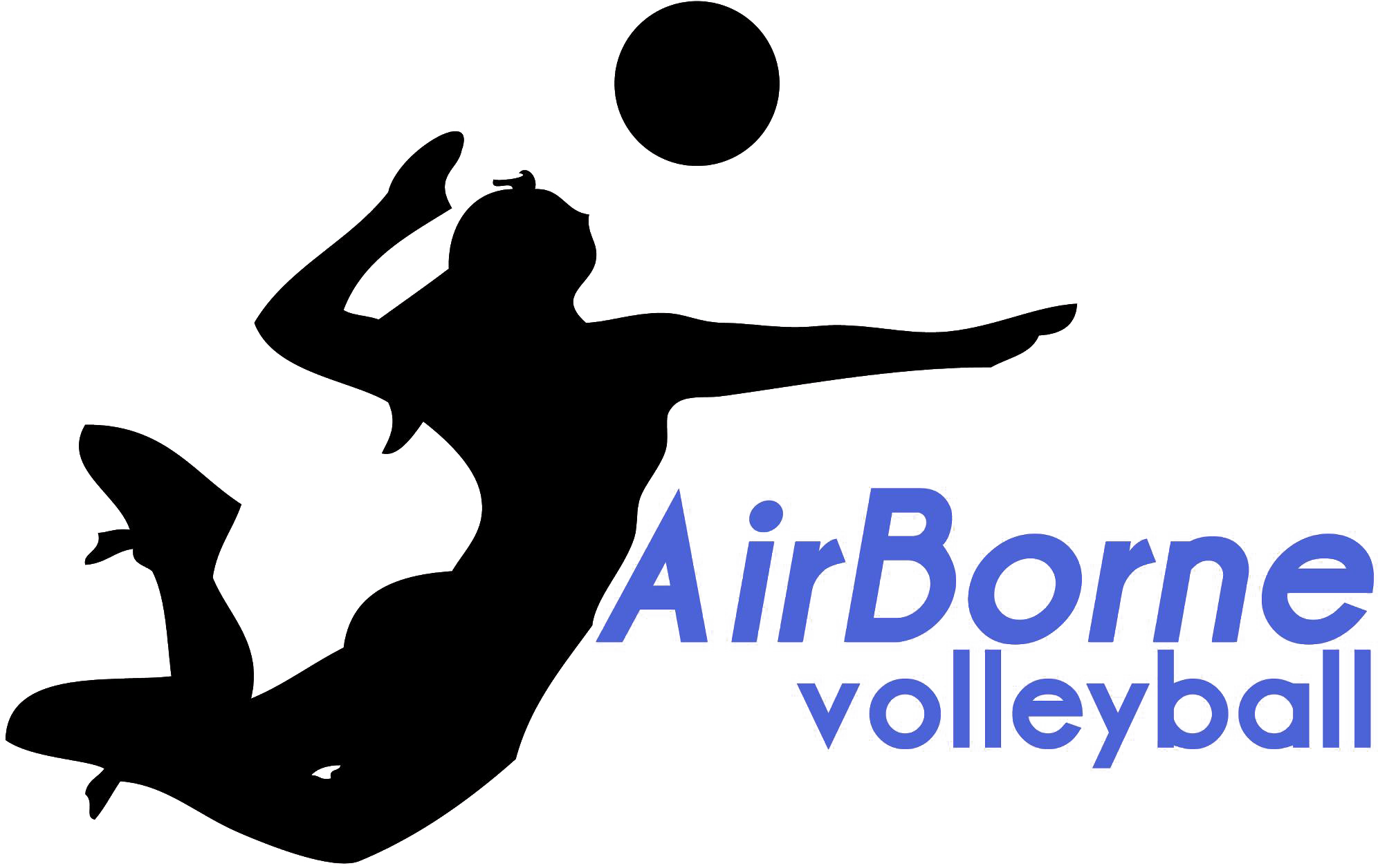 AirBorne Volleyball Logo High Res