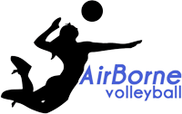 AirBorne Volleyball Logo